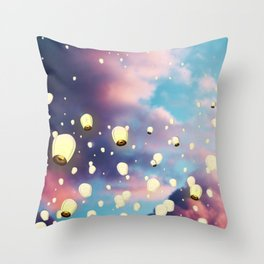 The Soul's Journey Throw Pillow