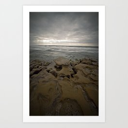 The Rocks Art Print