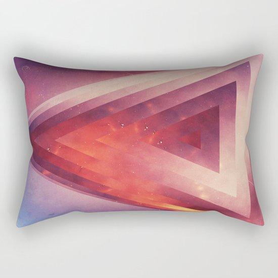 Triangled Too Rectangular Pillow