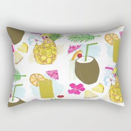Hawaiian Punch Rectangular Pillow