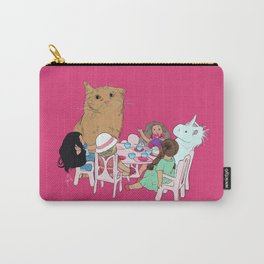Teatime//because every cat deserves to be spoiled Carry-All Pouch