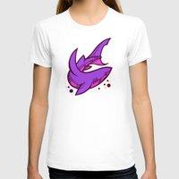 shark T-shirts featuring Shark by Artistic Dyslexia
