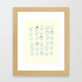 Trombi Framed Art Print