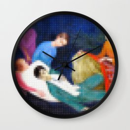 Lego: The Dying Dandy Wall Clock