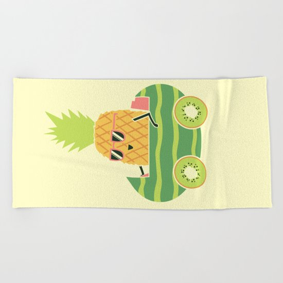 Summer Drive Beach Towel