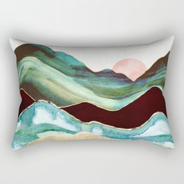 Velvet Mountains Rectangular Pillow