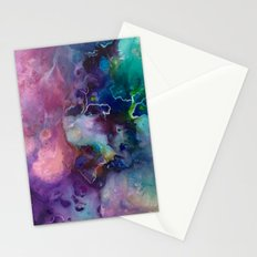 Acrylic Texture Stationery Cards