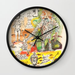 You're in a laundry room (slayer monkey) Wall Clock