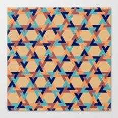 Geometric pattern 1977 Canvas Print