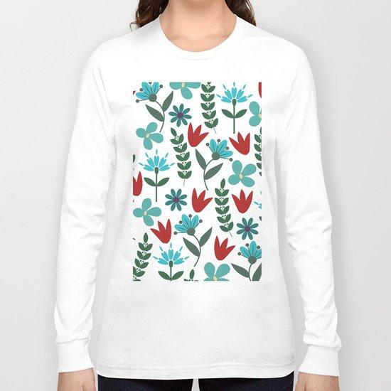 Flower Pattern VIII Long Sleeve T-shirt