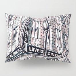 Lovers Diner Pillow Sham