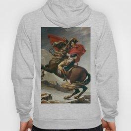 Napoleon Crossing The Alps Hoody