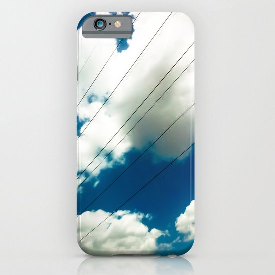 Lines and The Blue Sky iPhone & iPod Case