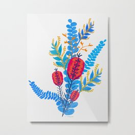 Australian Native Bouquet Metal Print