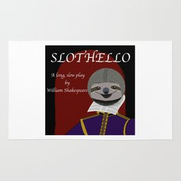 Slothello - a long, slow play by William Shakespeare Rug