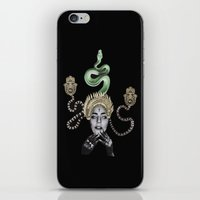 ohm iPhone & iPod Skins featuring Ohm by Mr Feris