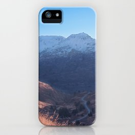 Fall in Alaska Photography Print iPhone Case