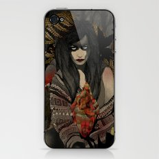 The Keepers - Red Pulse iPhone & iPod Skin
