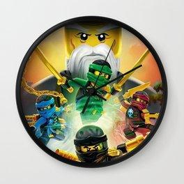 ninjago Wall Clock