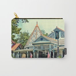 American Victorian House Carry-All Pouch