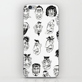 Shafted! Character sheet iPhone Skin