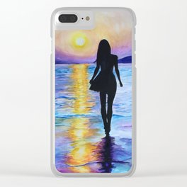 Bewitching Hour Clear iPhone Case