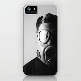 Czech M10M Gasmask iPhone Case