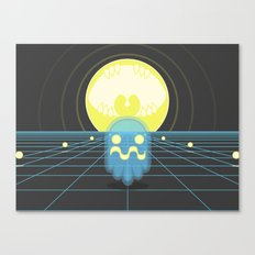 Pac-Monster Canvas Print