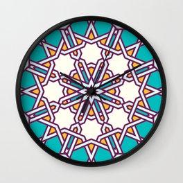 Turkish Pattern  Wall Clock