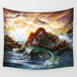 Sleeping Siren Wall Tapestry