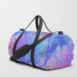 Damask Tapestry Pattern III Duffle Bag