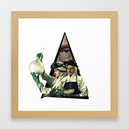 Youtriangle ∆ Breaking Bad Framed Art Print