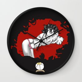 Demons in Your Sleep Wall Clock