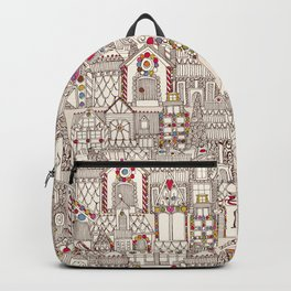 gingerbread town Backpack