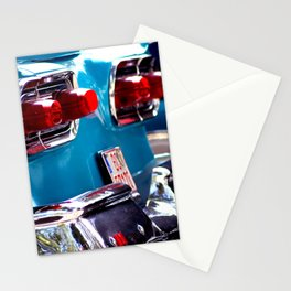 Taillights from a car Stationery Cards