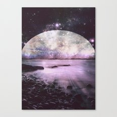 Mystic Lake Lavender Canvas Print