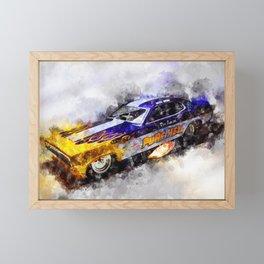Dave Beebe, Pure Hell Framed Mini Art Print