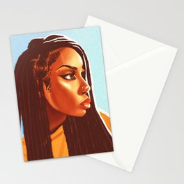 Lovely Locs Stationery Cards
