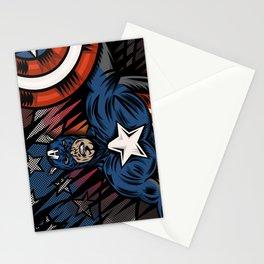 Captaino Americano Stationery Cards