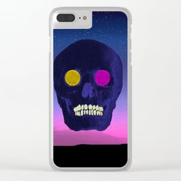 The rise and fall Clear iPhone Case