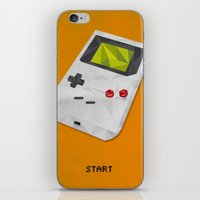 gameboy iPhone & iPod Skins featuring GameBoy by Vloh