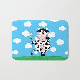 Cow Daisy Bath Mat
