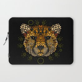 Cheetah Face Laptop Sleeve