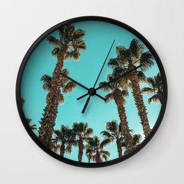 16 Palm Trees Art Print {1 of 2} Wall Clock