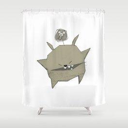 minima - rawr 04 Shower Curtain
