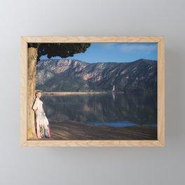 Basking Framed Mini Art Print