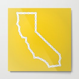California: United Chains of America Metal Print