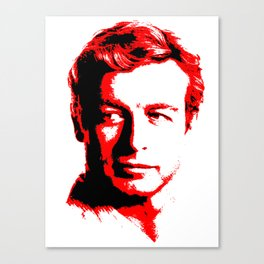 The Red Mentalist Canvas Print