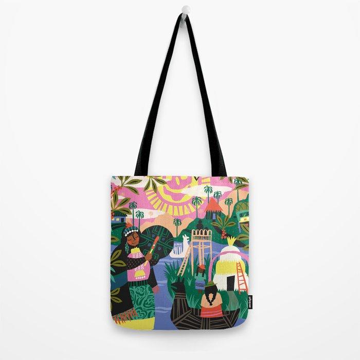 Latin Cultures Tote Bag