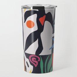inspired to Matisse (black) Travel Mug